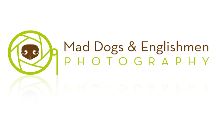 Mad Dogs and Englishmen Photography Logo