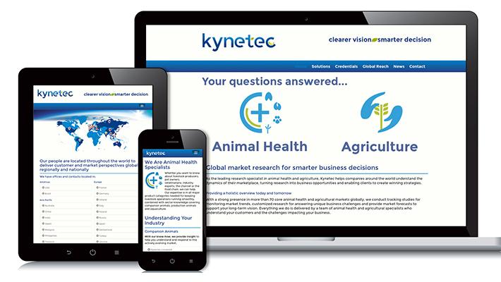 Kynetec Web Design